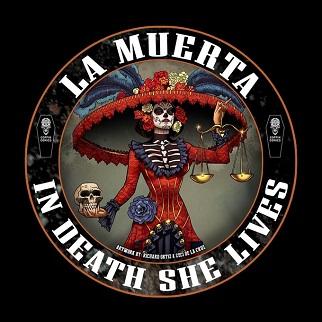 La_Muerta_3X3Color_Sticker